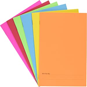 Hygloss Paperback Blank Story Books for Children - Write & Illustrate Stories - Great Activity for Classroom, Home & More - 6 Vibrant Colors - 5.5
