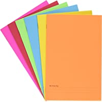 """Hygloss Paperback Blank Story Books for Children - Write & Illustrate Stories - Great Activity for Classroom, Home & More - 6 Vibrant Colors - 5.5"""" x 8.5"""", Pack of 6"""