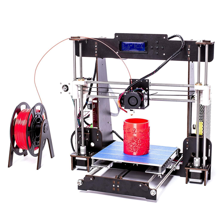 ZR de Printing A8 de W5 Impresora 3D DIY Marco de Madera Alta ...