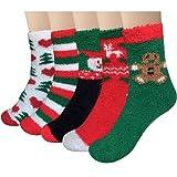 Amazon Price History for:Loritta 5 Pairs Women Warm Fuzzy Fluffy Socks Super Soft Cozy Home Slipper Socks