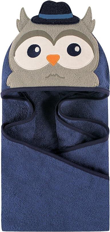 Boy Owl hooded towel
