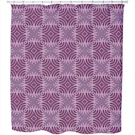 candy land shower curtain large waterproof luxurious bathroom design woven fabric