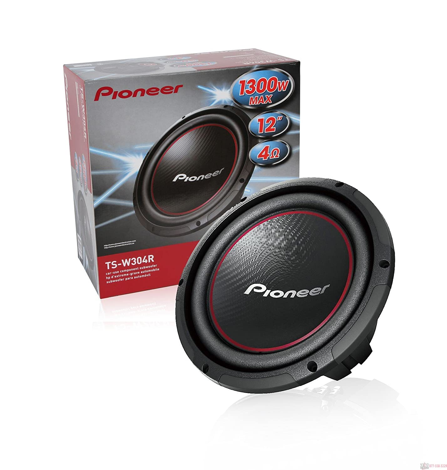 81SwFwN8kdL._SL1500_ amazon com 2) pioneer 12 inch 2600 watt champion subwoofers svc TS- W301R at nearapp.co