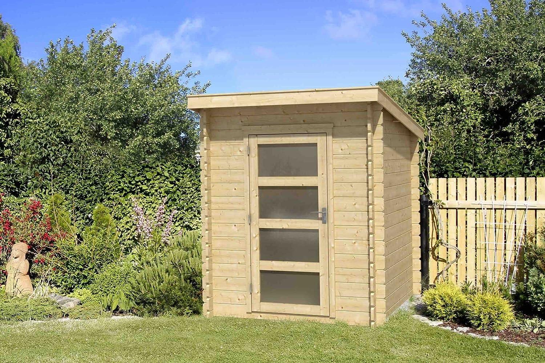 Jardín Casa G182 – 28 mm listones hogar, superficie: 3 m², Pult techo: Amazon.es: Bricolaje y herramientas