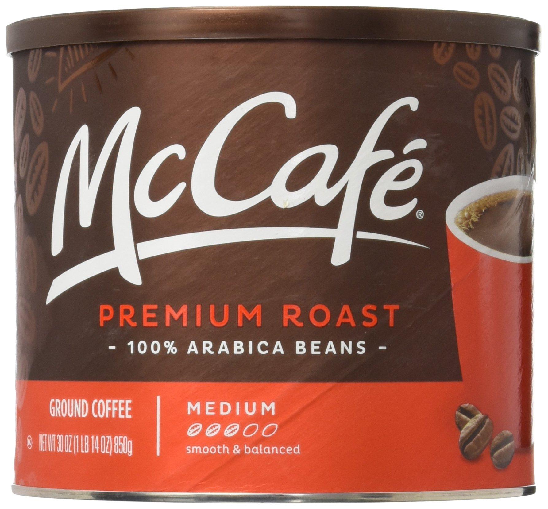 amazon com mcdonalds mccafe premium roast ground coffee bag 12