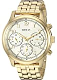 GUESS Women's Stainless Steel Multifunction...
