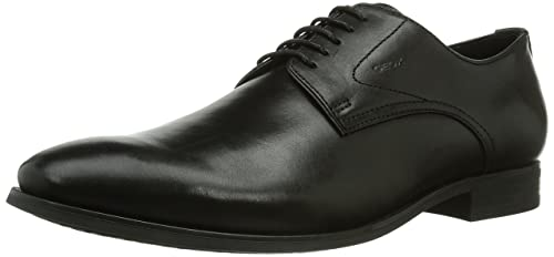 low priced 774ee e747b Geox U Albert 2Fit F Scarpe Stringate Uomo Nero Blackc9999 43 EU