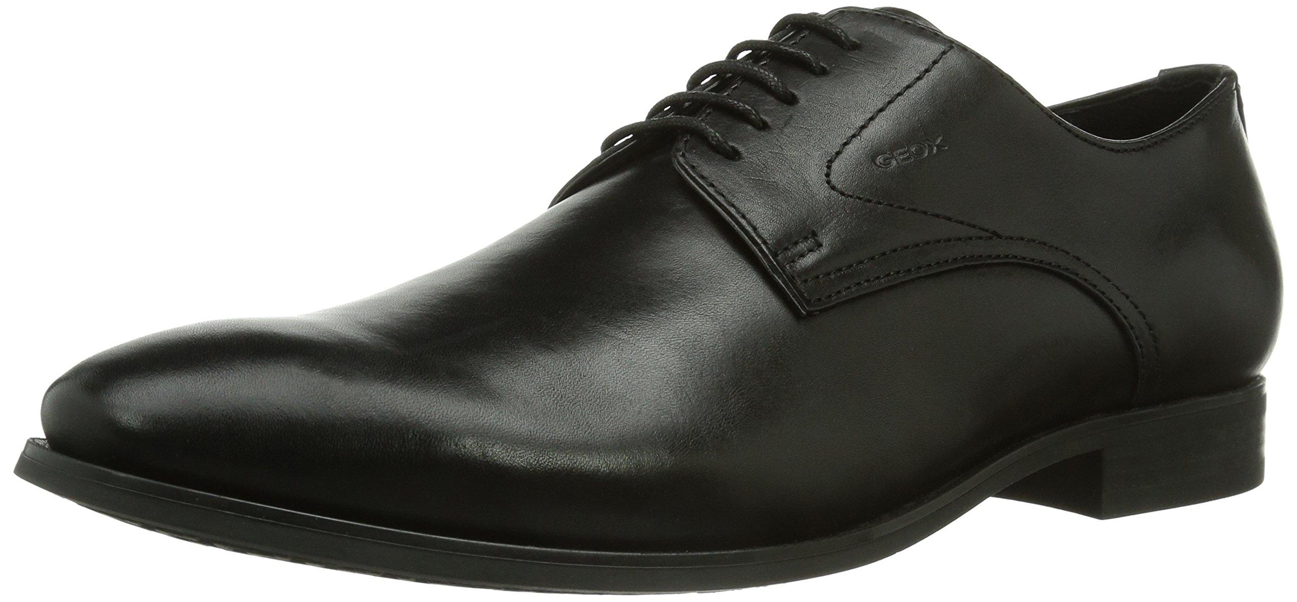 Geox Men's U Albert 2Fit 5 Black Oxford