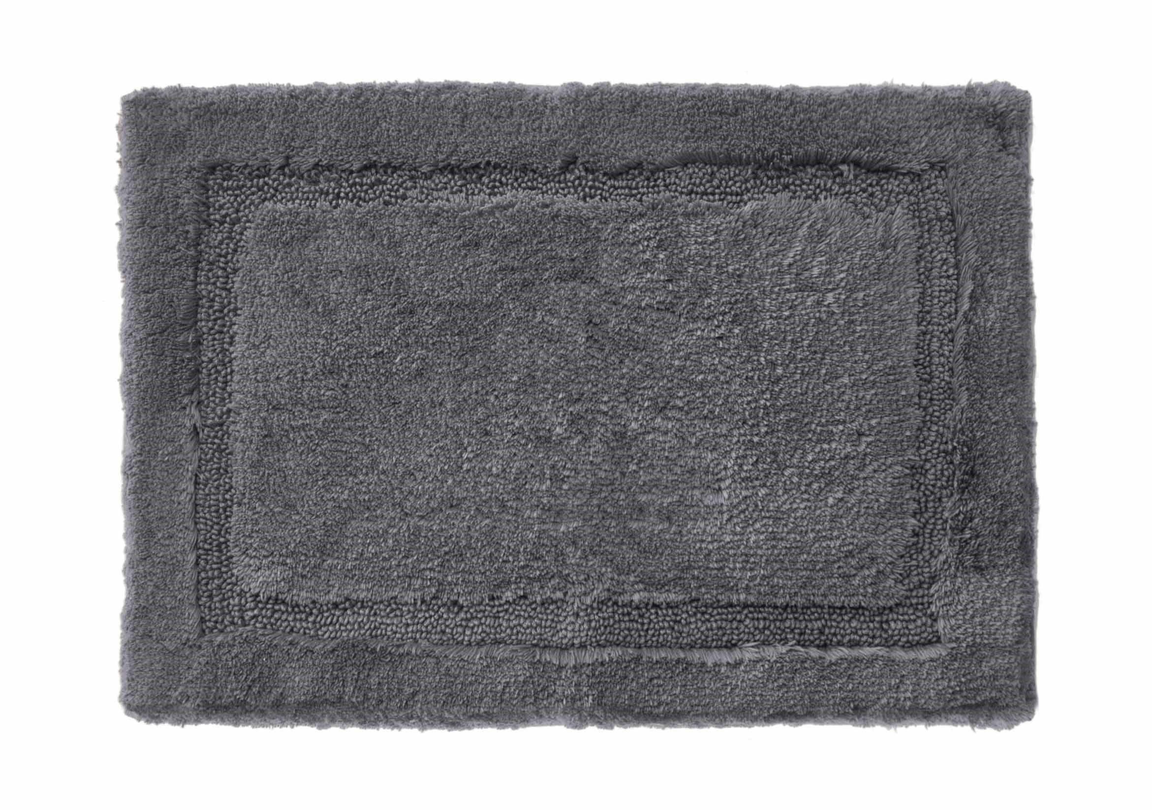 Grund Asheville mat, Bath Rug, 21 by 34-Inch, Slate Gray