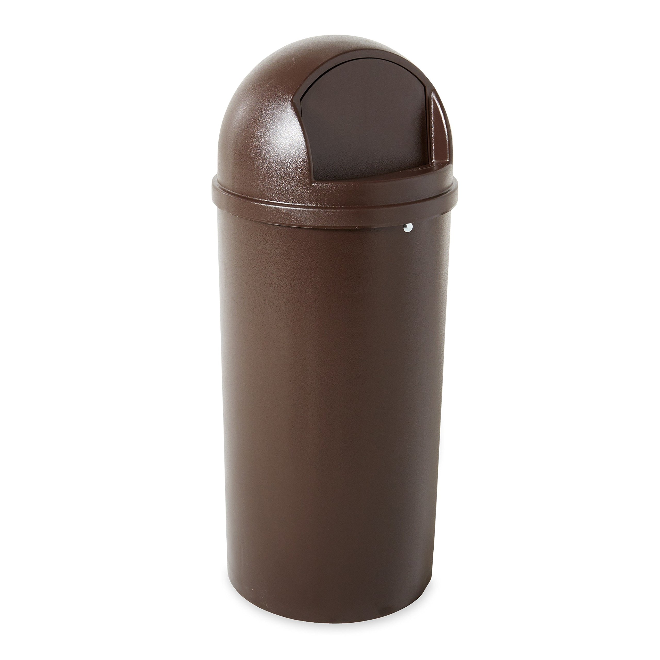 Rubbermaid Commercial Products FG816088BRN Marshal Classic Containers (Brown,15-Gallon)