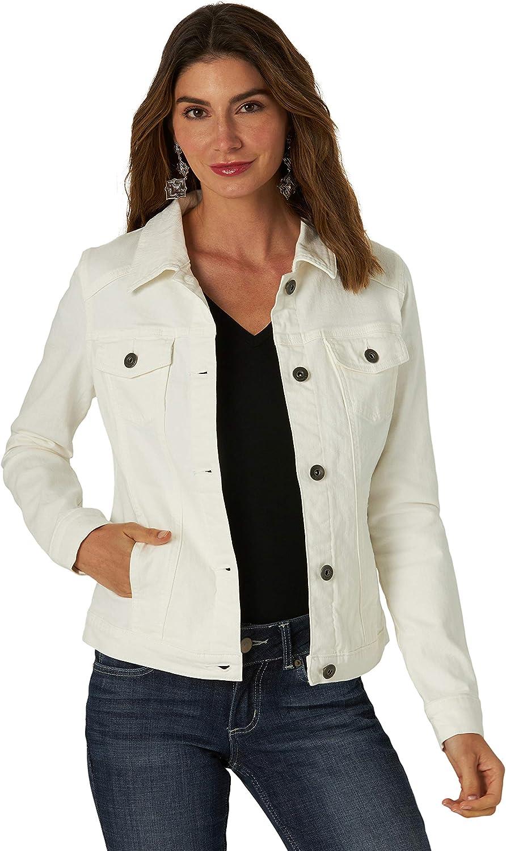 Wrangler Authentics Women's Jacket Stretch Super beauty product Ranking TOP7 restock quality top Denim
