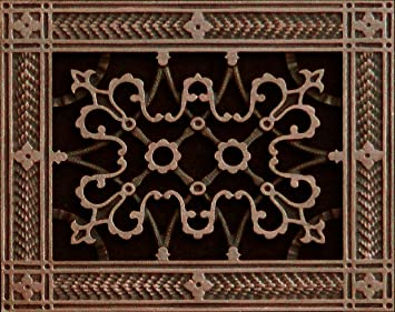 Decorative Wall Vent Covers steel crest syles Decorative Grille Vent Cover Or Return Register Made Of Urethane Resin To Fit