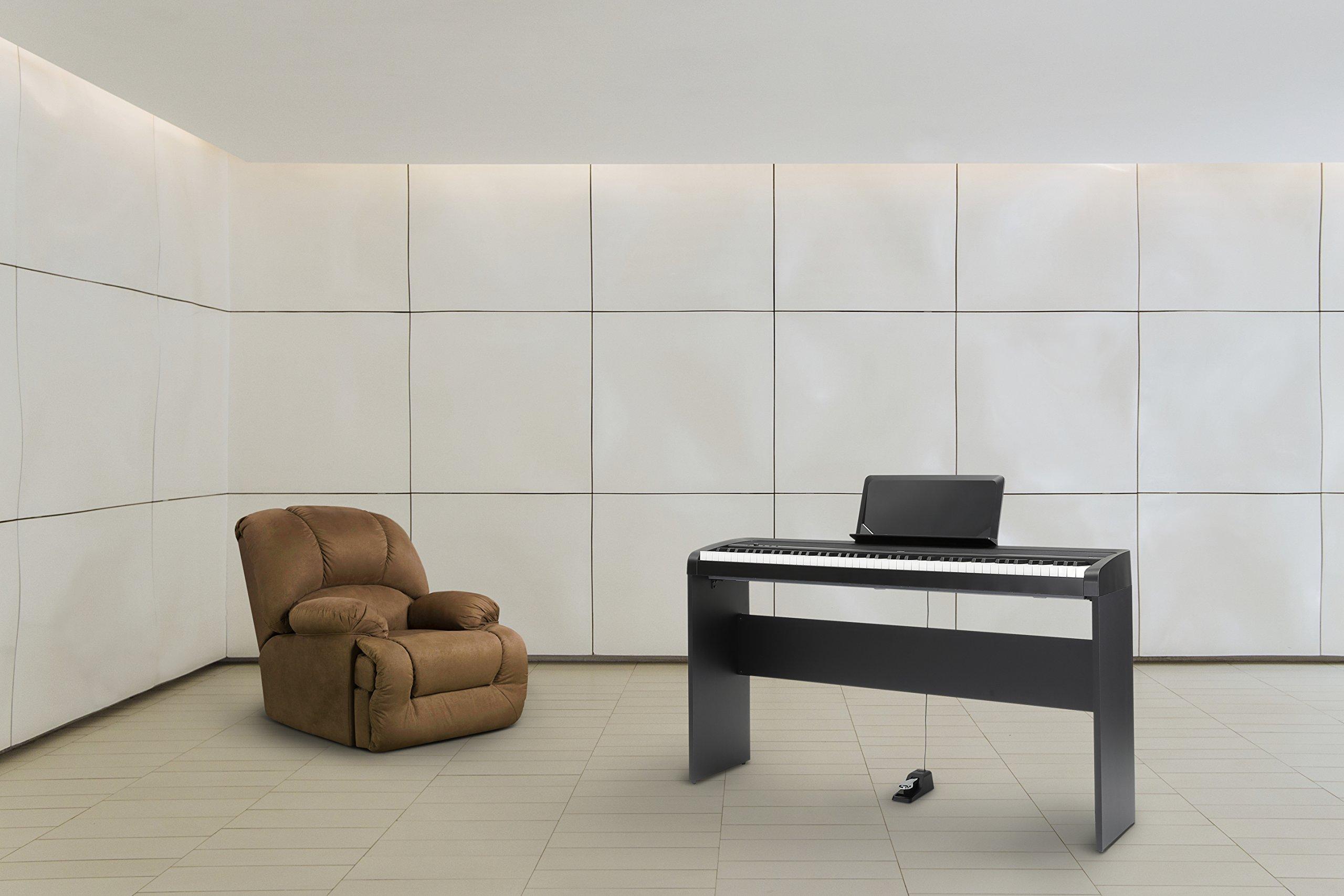 Korg B1 88 Key Digital Piano with Enhanced Speaker System Black by Korg (Image #4)