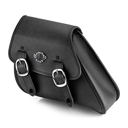 913fdc314f7b Amazon.com  Viking Bags Dyna Motorcycle Swing Arm Bag (Black)  Automotive