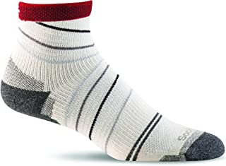 product image for Sockwell Pacer Quarter Sock with a Helicase Sock Ring