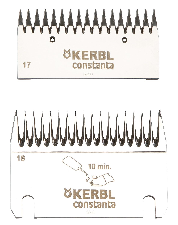 Kerbl 18911 Afeitado Juego de Cuchillos Cons Tanta 3 Plus 4 ...