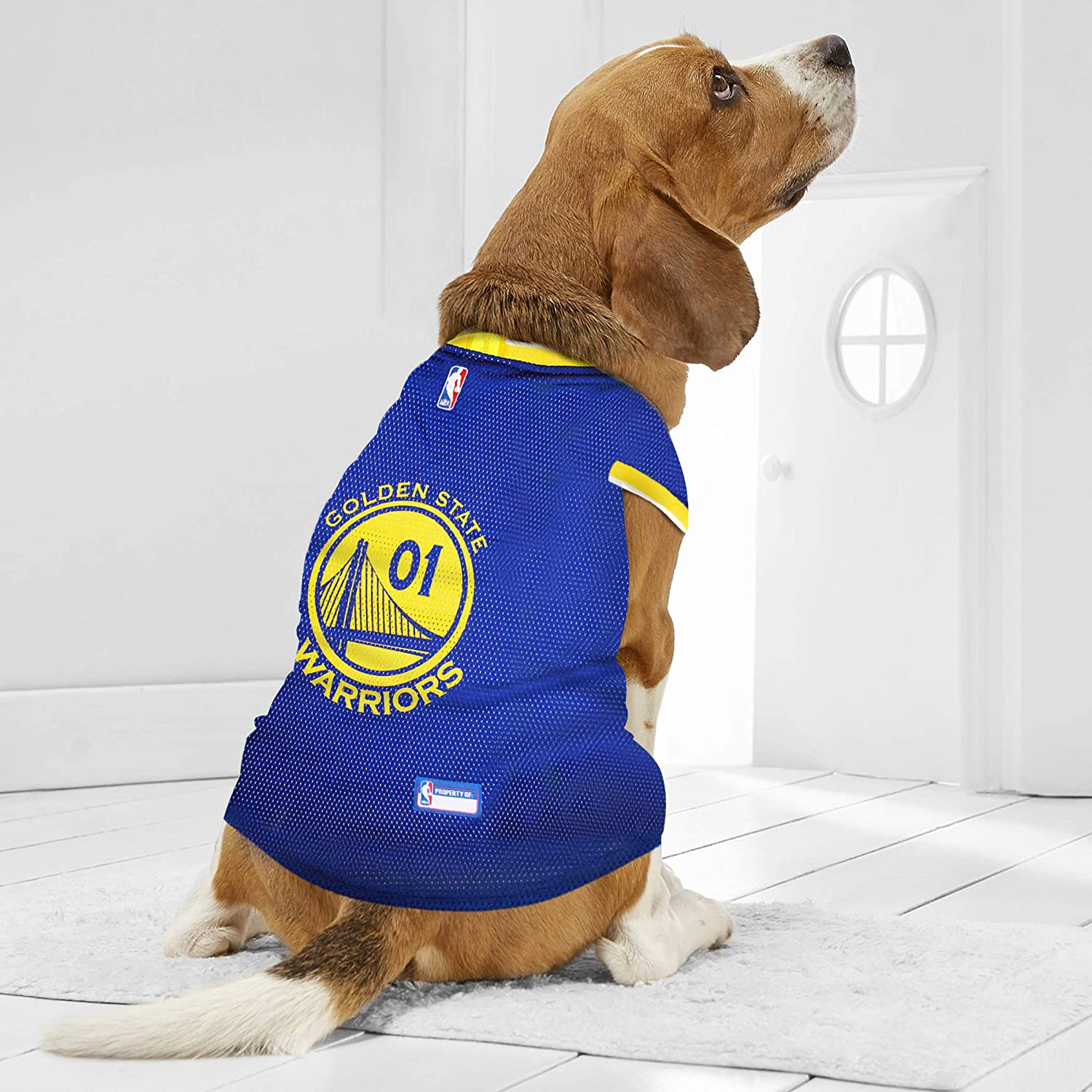 e2d22dac6ff Amazon.com   NBA GOLDEN STATE WARRIORS DOG Jersey