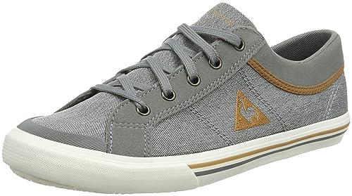 Le Coq Sportif Saint Gaetan GS Craft, Sneaker Unisex �C Bambini, Gris (Grey Denim/Brown Sug), 35 EU