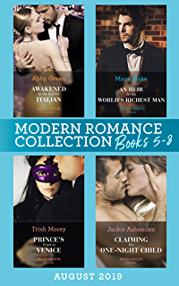 Modern Romance August 2018 Books 1-4 Collection: The Greek's