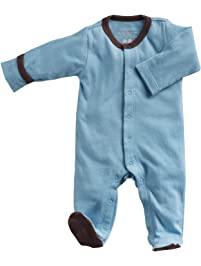 Babysoy Baby Boys' Footed One Piece