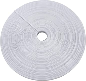2 yds Rigilene Boning in White 12mm width  for Grad or Bridal Gowns Corsets Costumes