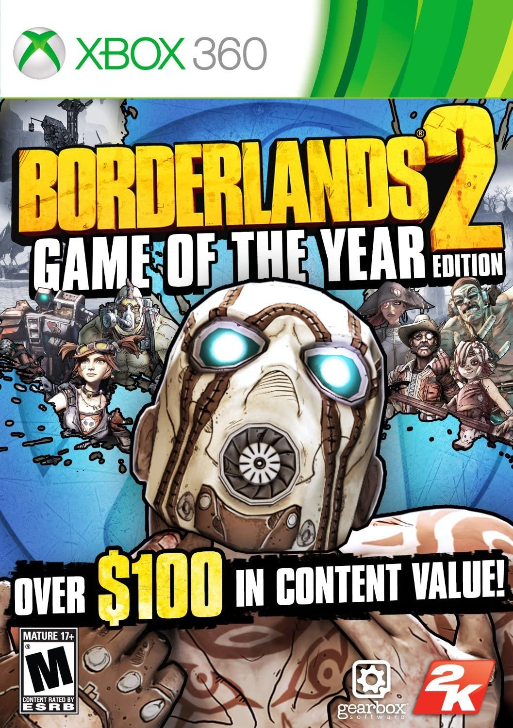 Amazon com: Borderlands 2: Game of the Year Edition: Xbox