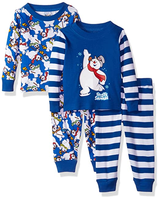 Frosty The Snowman Baby Infant Frosty The Snowman 4-Piece Pajama Set 242aa87ff