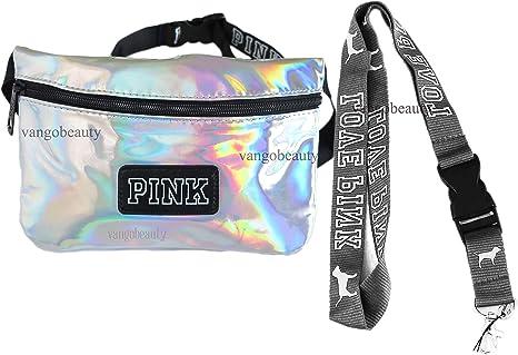 Victoria Secret - Riñonera, Color Plateado: Amazon.es: Equipaje