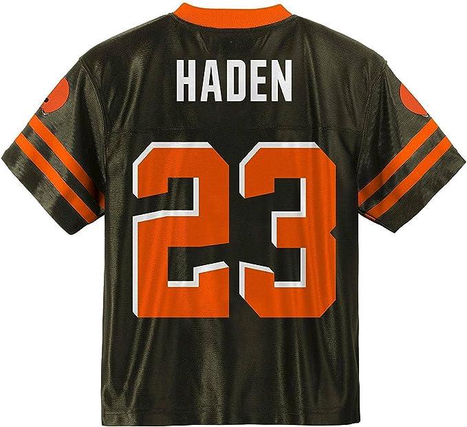 Amazon.com: Joe Haden Cleveland Browns Brown Home Player Jersey ...