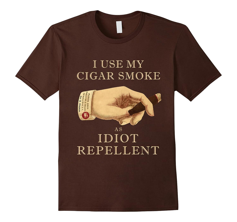 Mens Sarcastic Cigar Shirt Repellent-Xalozy