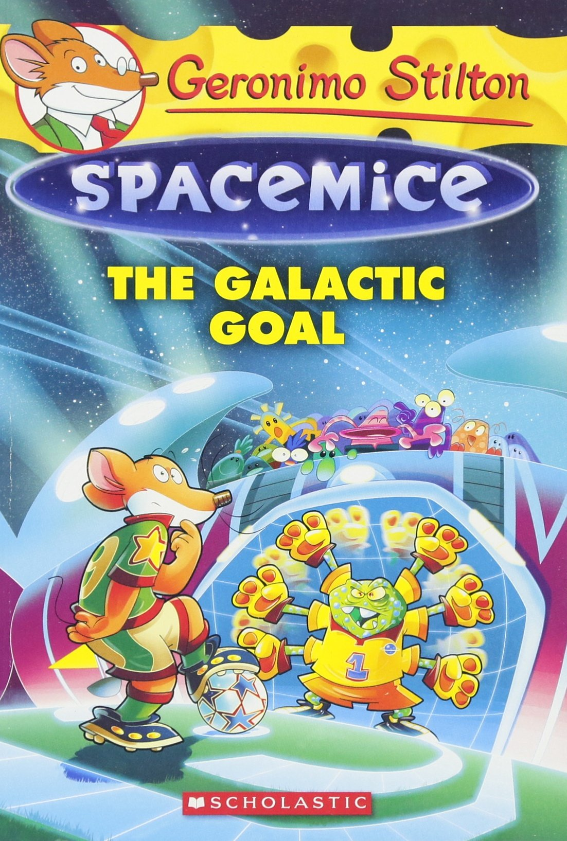 geronimo stilton spacemice 4 the galactic goal geronimo stilton