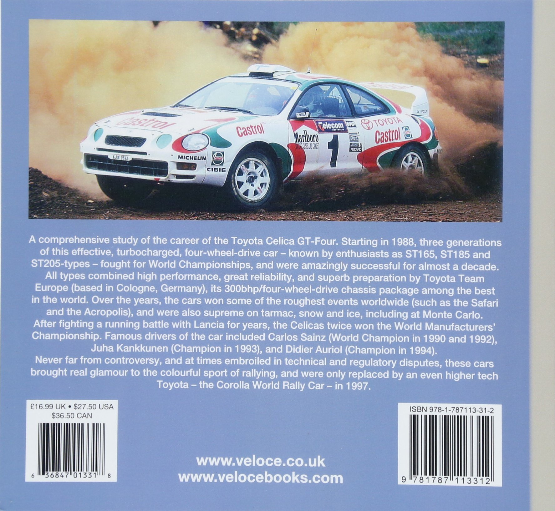 Toyota Celica GT-Four (Rally Giants): Amazon.es: Graham Robson: Libros en idiomas extranjeros
