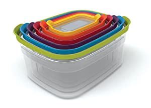 Joseph Joseph 81009 Food Storage Container 12-Piece Multicolored