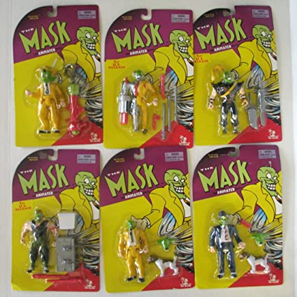 amazon com the mask the animated series compete set of 6 action