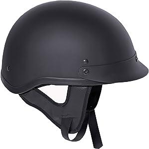 Fuel Helmets SH-HHFL66 HH Half Helmet