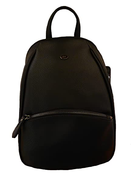 Quebec Damen Rucksack One Size Schwarz David Jones wQUHFK