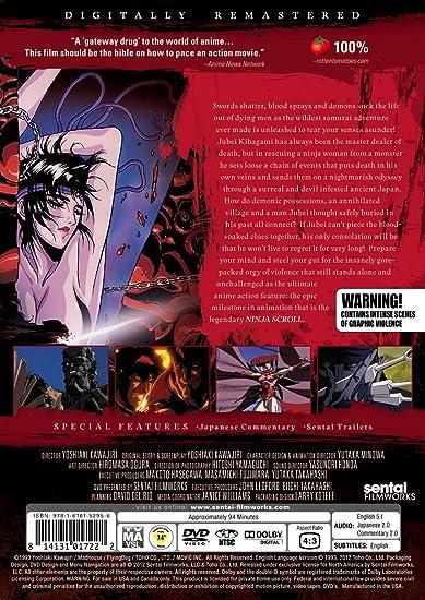 Amazon.com: Ninja Scroll: Dean Wein, Quint Lancaster: Cine y TV
