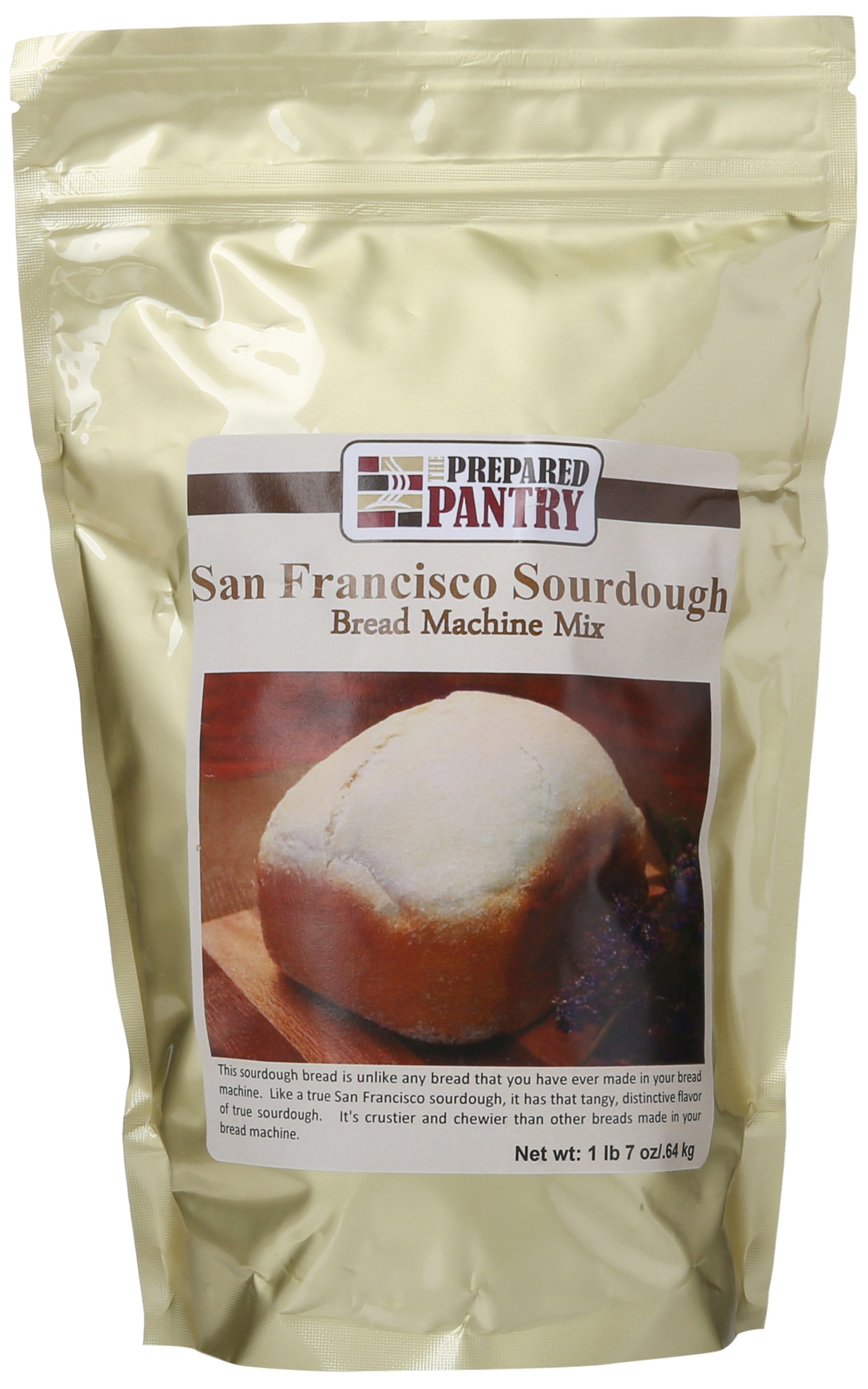 The Prepared Pantry San Francisco Sourdough Bread Machine Mix, 92 Ounce