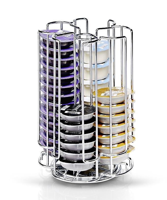 Quailitas Tassimo T-Disc - Soporte para cápsulas (almacena hasta 52 Bosches): Amazon.es: Hogar