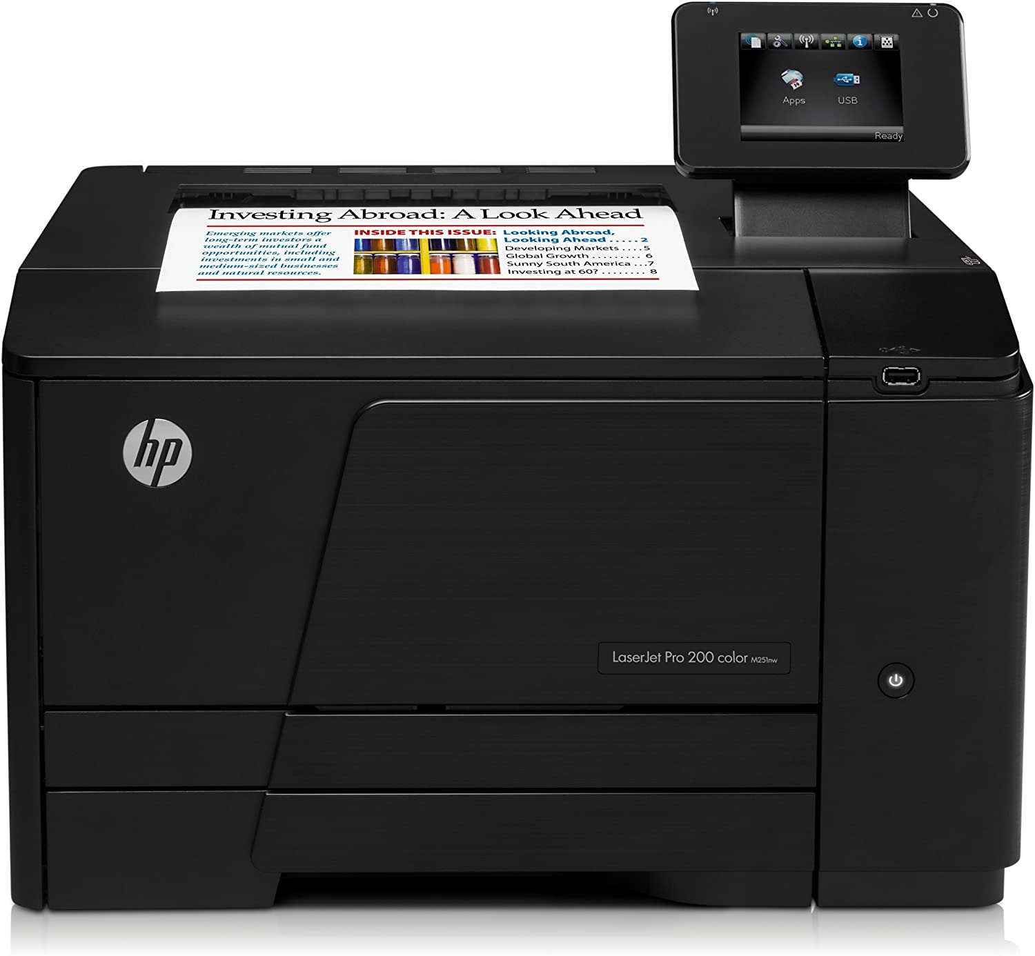 HP Color LaserJet Pro 200 M251NW M251 CF147A Color Laser Printer - (Renewed)