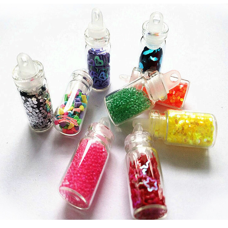 Amazon.com : 48 Bottles Glitter Shake Jars Set by Lasten, Glitter ...