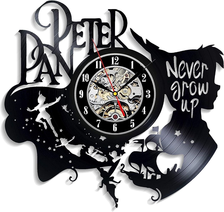 Levesdecor - Peter Pan Vinyl Wall Clock