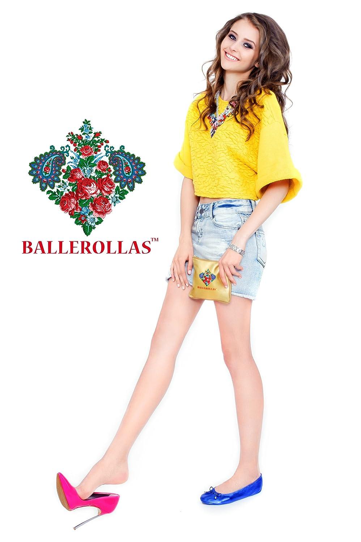 Ballerinas faltbar - bronze Wechselschuhe BALLEROLLAS 100% Leder, bronze - Gr. 36 1c8ab8