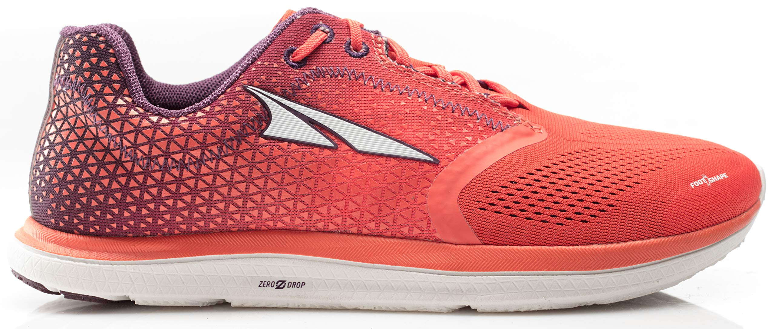 Altra AFW1836P Women's Solstice Road Running Shoe, Coral - 6 M US