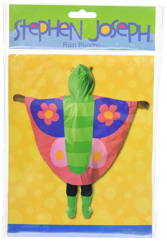 Stephen Joseph Rain Poncho Butterfly Stephen Joseph-Kids Apparel SJ100725