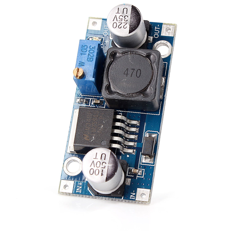 Neuftech Lm2596s Dc Heruntergehen Schaltreglermodul Elko Current Relay Computer Zubehr