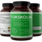 Forskolin Extract Weight Loss Supplement Natural Diet Pills for Men & Women – Natural Fat Burn Benefits Boost Metabolism Curb Appetite Preserve Lean Body Mass Pure Coleus Forskohlii – Natural Vore