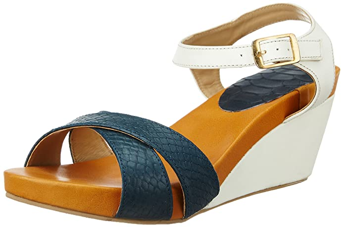 Hidesign Women's Sophia Leather Fashion Sandals Women's Fashion Sandals at amazon