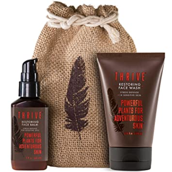 Amazon Com Restoring Skincare Kit For Men With Sensitive Skin 2