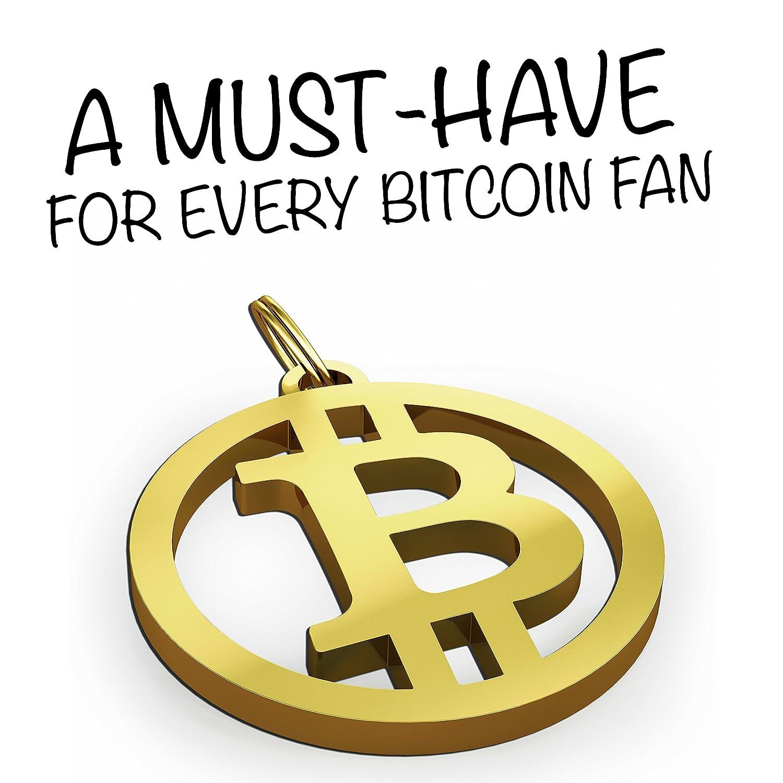 Llavero Bitcoin de innoGadgets | Accesorios de acero inoxidable para su manojo de llaves | Bitcoin motivo para los amantes de la moneda criptográfica| ...